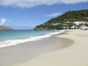 Praia de Flamands, St. Barth,