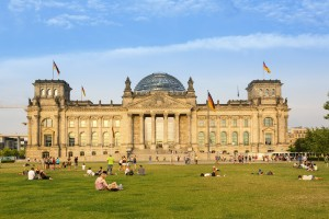 Europe, Germany, Berlin, Reichstag