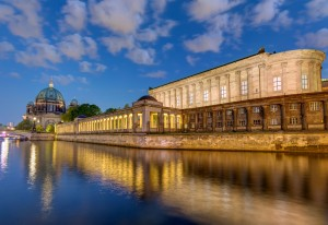 Museumsinsel, The river Spree,