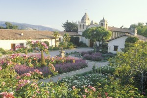 The Carmel Mission in California