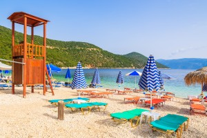 Antisamos beach, Kefalonia island, Greece