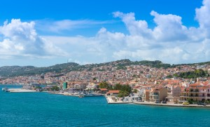 View of Argostoli Town, Kefalonia Island, Ionian Sea, Greece