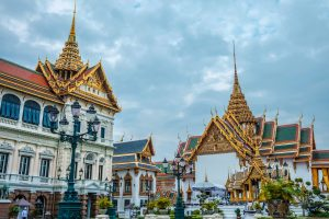 The Grand Palace of Bangkok in Thailand