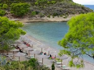 Vrelos Beach, Spétses,