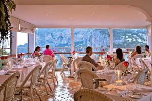 Restaurante Terrazza Brunella Capri,