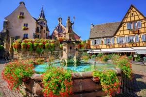 Eguisheim, village,