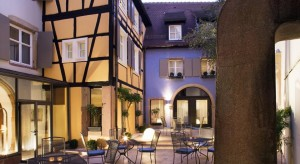 Hotel Le Colombier foto do booking.com