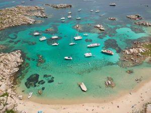 Corsica Lavezzi island