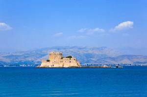 Fortaleza Bourtzi, Nafplio, Peloponeso