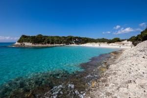 Praia petit Sperone, Córsega