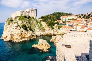 Fortalezas em Dubrovnik, Croácia