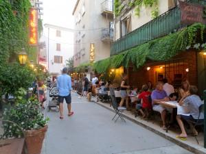 Restaurante Sous La Tonnelle, Córsega