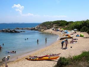 Praia Cala Longa, Córsega