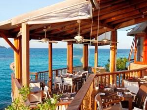 Restaurante On The Rocks, no Hotel Éden Rock, St. Barth