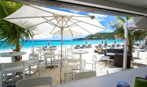 Restaurante La Plage, Hotel Tom Beach, St. Barth