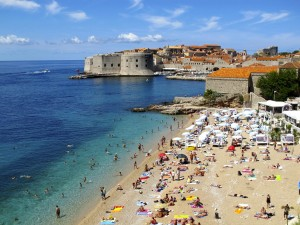 Praia Banje, Dubrovnik