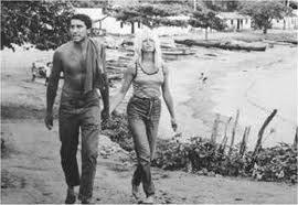 Brigitte Bardot e o seu namorado