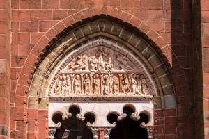 Porta da Igreja St. Pierre