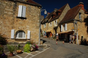 Domme, vale do Dordonha, França