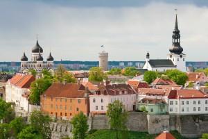 Toompea hill. Tallinn, Estonia