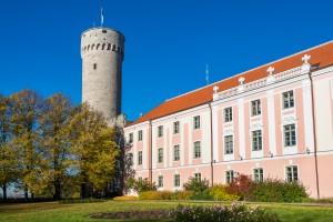 Toompea, Governors garden, Tallinn, Estonia