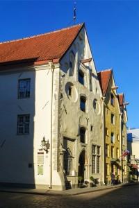 Casa das três Irmãs, Tallinn, Estonia