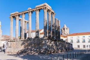 Roman temple in Evora