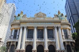 Municipal Theatre, Rio de Janeiro, Brazil
