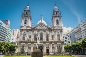Church Nossa Senhora da Candelária, Rio de Janeiro, Brazil