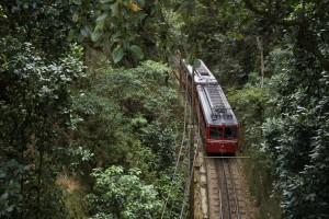 Tram Corcovado, Rio de Janeiro, Brazil