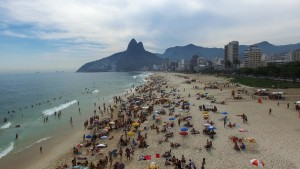 Ipanema and Leblon beach, Rio de Janeiro, Brazil