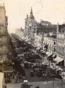 antiga Av Central (hoje Av Rio Branco), foto do site somentehistoria