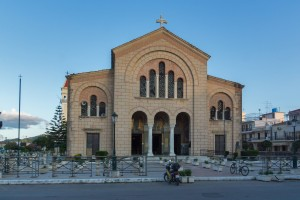 Cathedral of Saint Dionysios in Zakynthos City, Greece