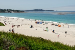 Beach at Carmel, California