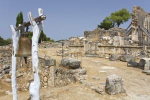 ruínas de um monastério