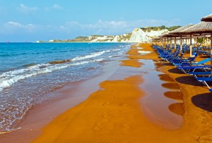 Xi Beach, Kefalonia, Greece