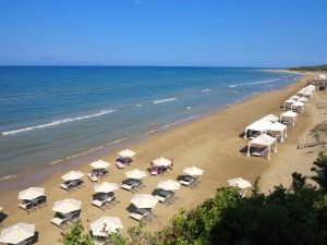praia do hotel Mandola Rosa