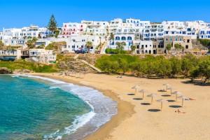 Naoussa town, Paros, Cíclades island, Greece