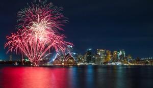 Reveillon em Sydney