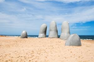 Los Dedos, Punta del Este, Uruguay