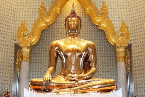 golden buddha in thailand