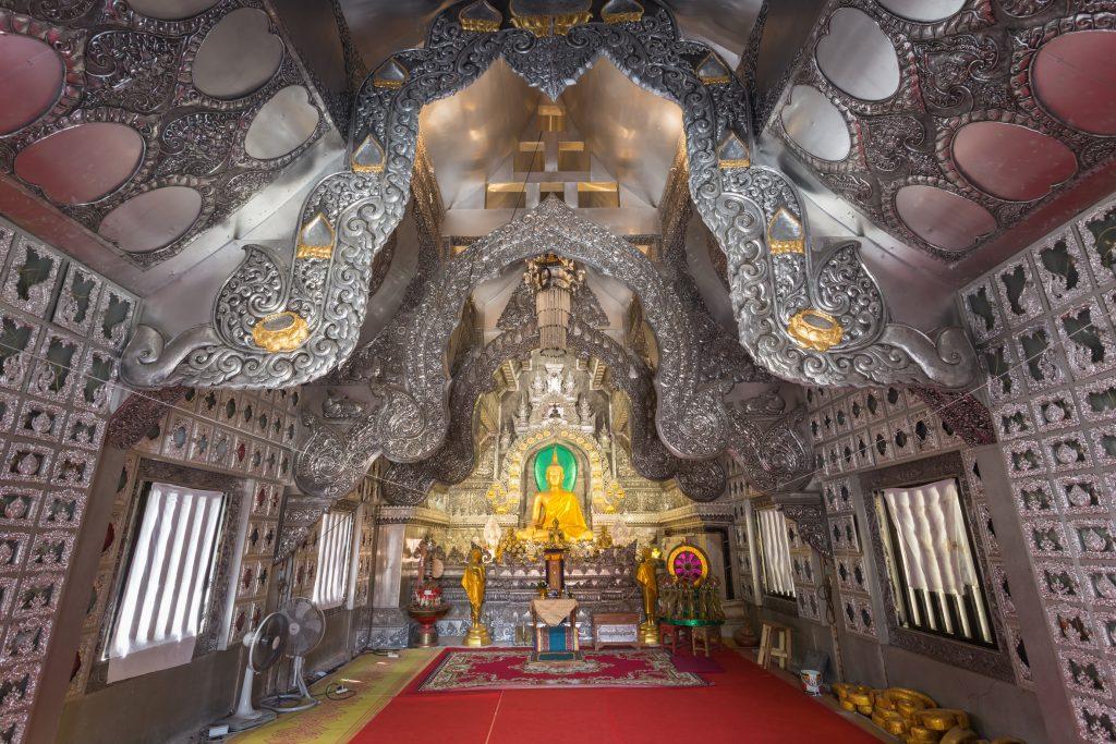 Wat Sri Suphan, Chiang Mai, Tailândia