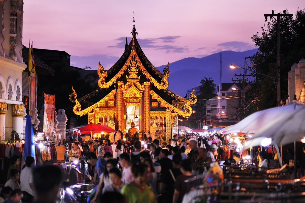 Sunday Market, Chiang Mai, Tailândia