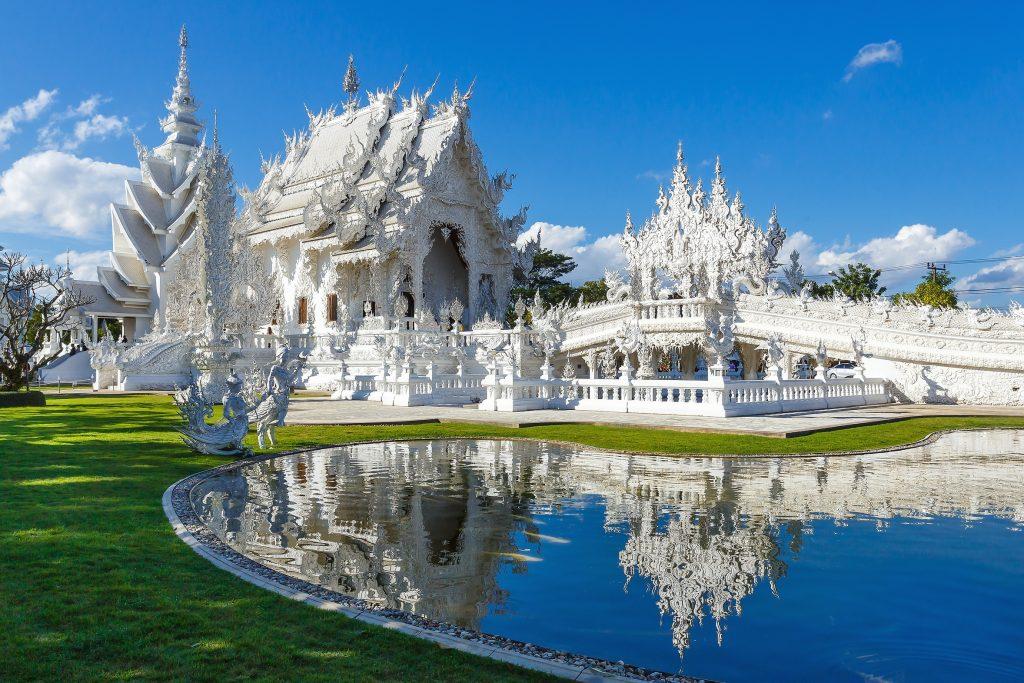 Wat Rong Khun, Chiang Mai, Tailândia