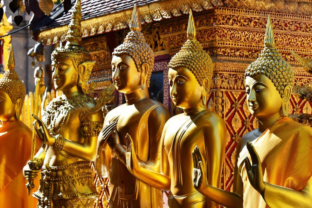 Wat Phra That Doi Suthep, Chiang Mai, Tailândia