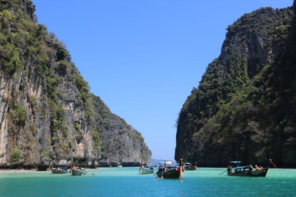 Phi Leh Lagoon, Tailândia