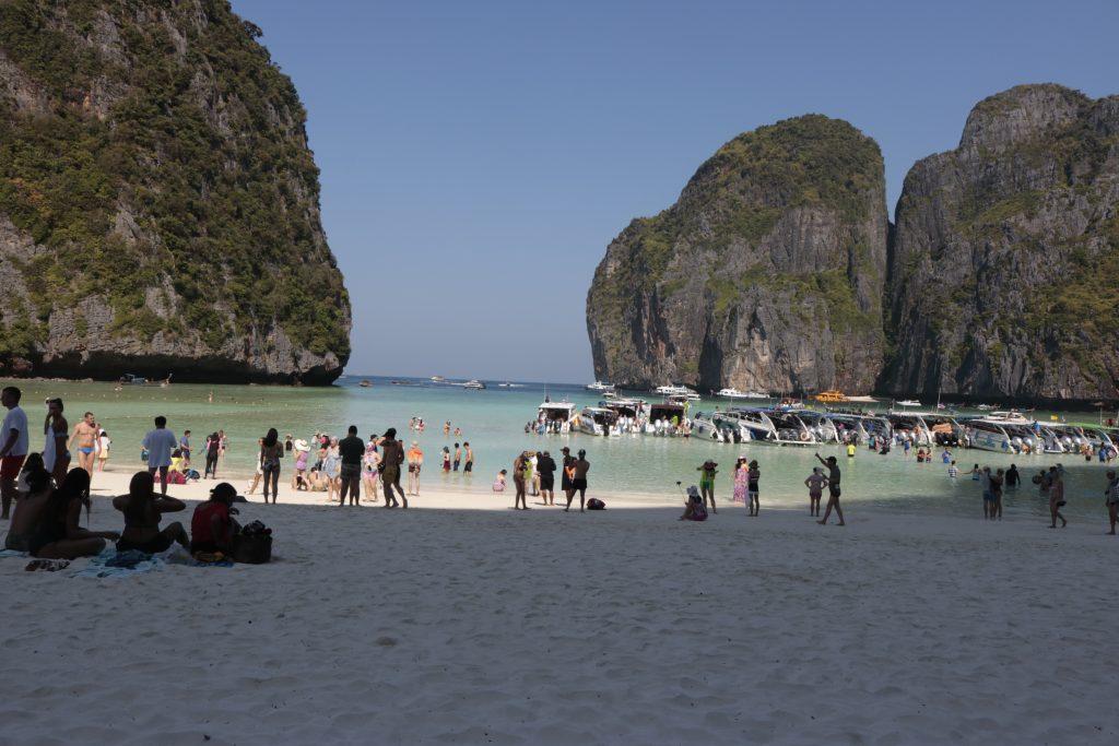 Maya Bay, Phi Phi, Tailândia