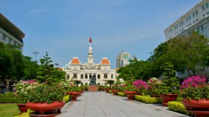 City Hall in Saigon, Vietnam