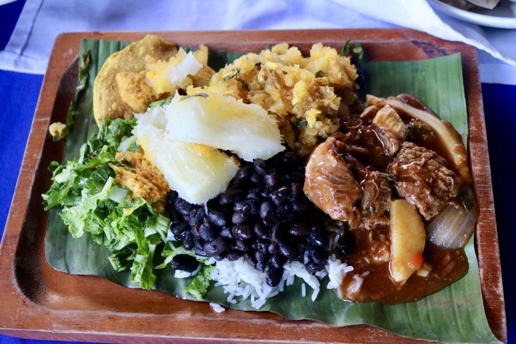 Gallo-Pinto, prato da Costa Rica