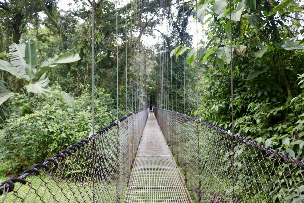 Ponte suspensa do Místico Arenal Parque das Pontes Suspensas, Costa Rica